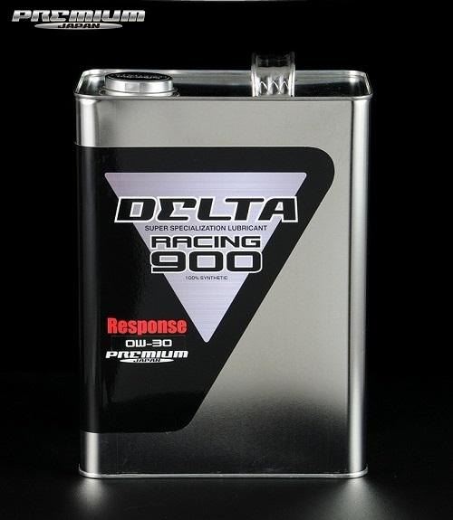 DELTA Racing 【デルタ・レーシング(プレミアムジャパン)】900 Response エンジンオイル0W-30 エステル配合 100%化学合成油 4L缶+1L缶 (5L)