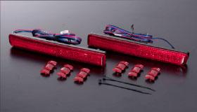 Valenti 【ヴァレンティ】 JEWEL LED REAR BUMPER RIFLECTOR [ジュエルLEDリアバンパーリフレクター]DAIHATSU type 1 「56LED」ムーヴカスタム H18.10~H22.11 L175S/L185S 全グレード