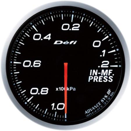 デフィ(Defi) アドバンスBFメーター60φホワイトモデル インマニプレス計