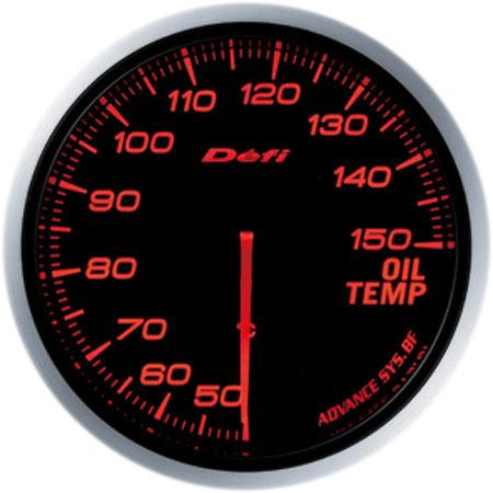 デフィ(Defi) アドバンスBFメーター60φアンバーレッドモデル 油温計