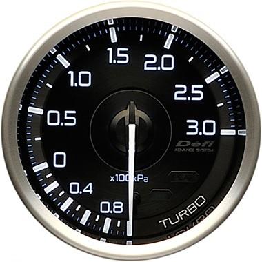 デフィ(Defi) アドバンス A1 メーター60φ ターボ計 -100kPa~+300kPa