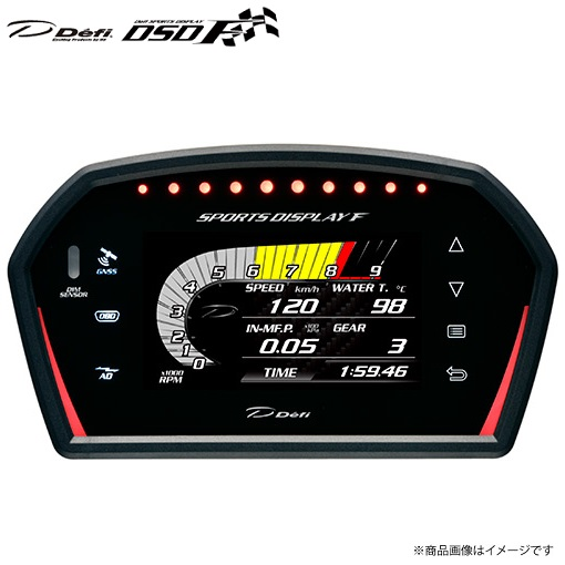 Defi Sports Display F デフィー スポーツディスプレイエフ Defi デフィ DSDF スポーツディスプレイエフ アドバンスコントロールユニットセット DF15902