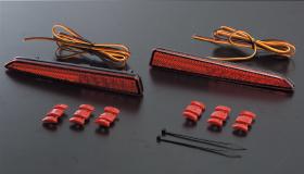 Valenti 【ヴァレンティ】 JEWEL LED REAR BUMPER RIFLECTOR [ジュエルLEDリアバンパーリフレクター]DAIHATSU type 2 「40LED」タントカスタム H19.12~H25.10 L375S/L385S 全グレード