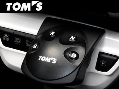 TOM'S 【トムス】 シフトポジションスイッチプリウス ZVW50 / ZVW51 2016.12~※2018年12月以降のパノラミックビューモニター付車には装着不可