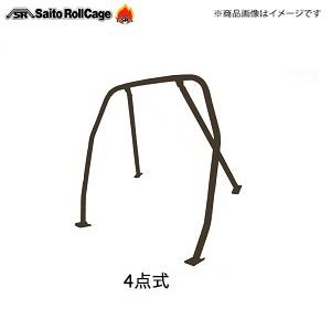 SAITO ROLLCAGE【サイトウロールケージ】40φ『スチール製』 [リア4点式]ビート PP1