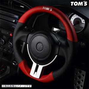 TOM'S 【トムス】 ステアリングレッドレザー&パンチングレザーTOYOTA 86 ZN6 前期(全グレード) H24.2~H28.6