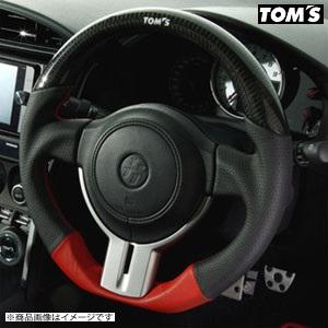 TOM'S 【トムス】 ステアリングリアルカーボン&パンチングレザーTOYOTA 86 ZN6 前期(全グレード) H24.2~H28.6