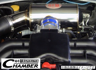 柿本 改 【KAKIMOTO RACING】 インテークチャンバーフォレスター 2.0i DBA-SJ5 FB20(NA) 6MT・CVT 12/11~※インテークパイプ一体型。