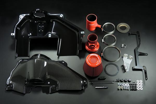 モンスタースポーツ PFX400インテークキット86 ZN6 12.04~16.07 / BRZ ZC6 12.03~16.07※後期型(2016年7月以降)未確認