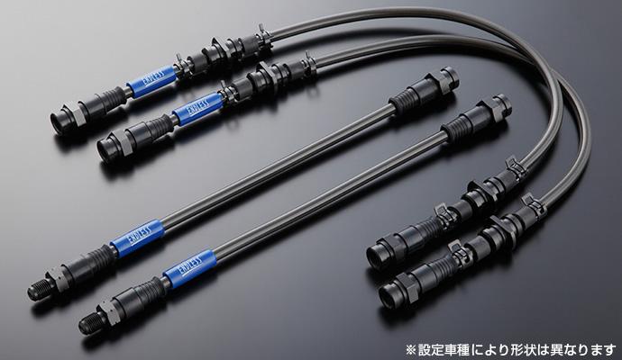 エンドレス 【ENDLESS】 ブレーキラインWRX STI VAB D型~スイベルスチール 「ボディ/スチール・ソケット/ステンレス」