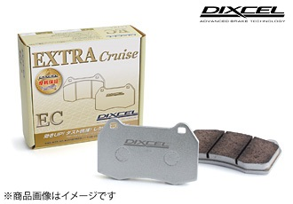 DIXCEL 【デイクセル】 ブレーキパットEC type [エクストラクルーズ]「フロント・リア(1台分セット)」ノア・ヴォクシー ZWR80G/ZRR80G/ZRR85G/ZRR80W/ZRR85W 14/01~