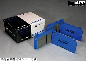 APP【エーピーピー】 SFIDA[スフィーダ]ブレーキパット KG-1115 「フロント・リア(1台分セット)」インプレッサ(ブレンボキャリパー) GRF 09.2~