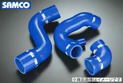サムコ ターボホースキット カラー:ブルー (専用ホースバンド付)マークII JZX110 1JZ-GTE