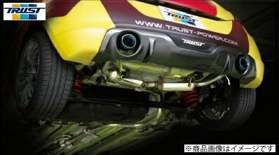 TRUST トラスト GReddy CS GT SLASH ver2スイフトスポーツ CBA-ZC32S M16A 6MT 11.12~コンフォートスポーツ GTスラッシュ ver2 マフラー