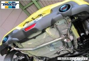 TRUST トラスト GReddy CS GT SLASH ver1スイフトスポーツ CBA-ZC33S K14C 6MT/6AT 17.09~コンフォートスポーツ GTスラッシュ ver1 マフラー[リアピース交換タイプ]