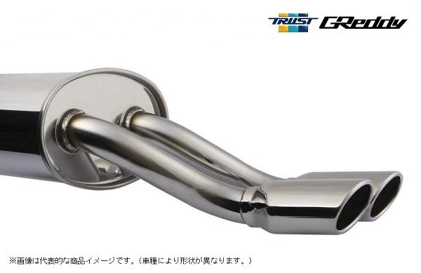 TRUST トラスト GReddy コンフォートスポーツオーバル マフラーN-BOXカスタム DBA-JF1 S07A(ターボ) 12.11- FF