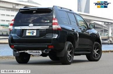 トラスト 【TRUST】 GReddy クロスマフラーランドクルーザープラド LDA-GDJ150W 1GD-FTV 4WD 15.02~XROSSエキゾースト G-Style (左右シングル出し)