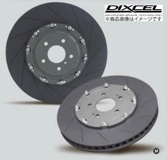 ディクセル【DIXCEL】 2ピース ブレーキローターインプレッサ RA-R/R205/S206、WRX S207 6POTブレンボ(PCD100/114.3)FS[12本スリット]タイプ 「フロント」