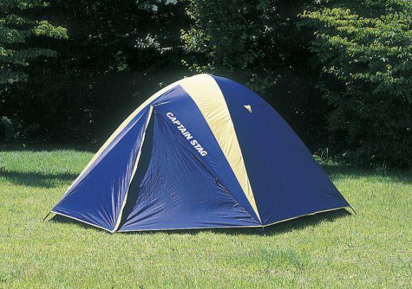● パール金属 キャプテンスタッグ CAPTAIN STAG テント レニアス ドーム テント 5-6人用 キャリーバッグ付 M-3106 【送料無料】