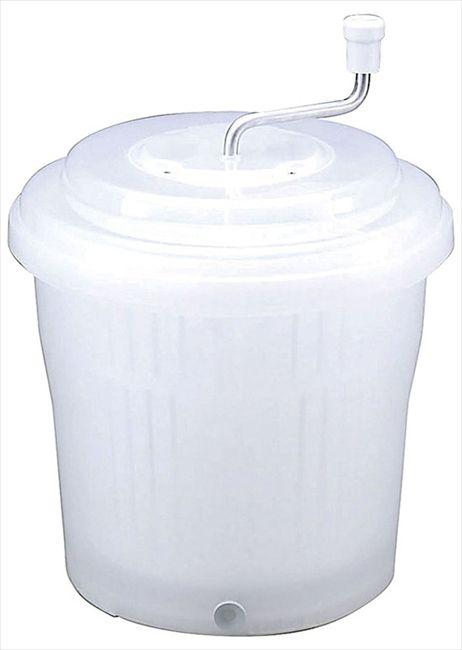 ● 新輝合成 抗菌ジャンボ野菜水切り器 20型 ナチュラル TONBO トンボ 【送料無料】