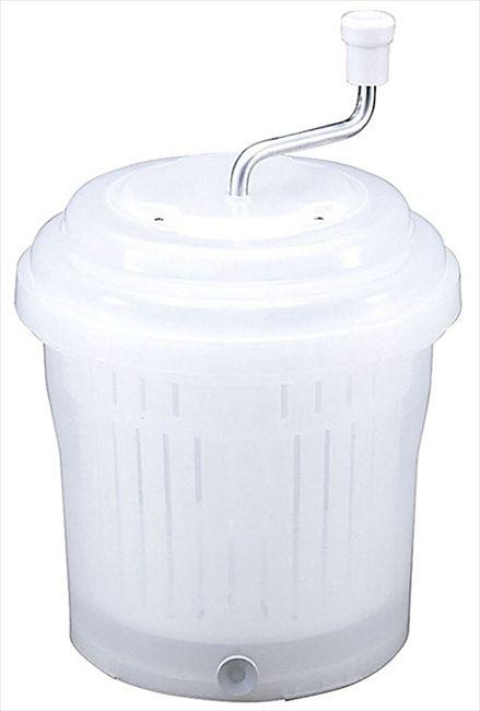 ● 新輝合成 抗菌ジャンボ野菜水切り器 10型 ナチュラル TONBO トンボ 【送料無料】