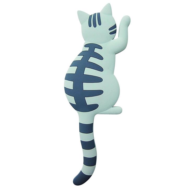 東洋ケース マグネットフック Cat tail サバトラ MH-CAT-06 かわいい ネコ雑貨 マグネットフック 可愛い[ 5500円以上 送料無料 ]