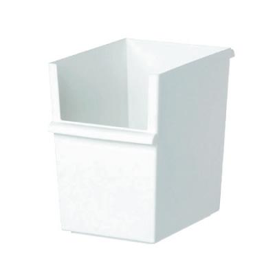 組合せ自由な収納システム お買い得 カラーボックスにもジャストサイズ 吉川国工業所 JT-04 コンテナースリム 深 収納ケース ホワイト JUST-IT インナーボックス 卓出 収納ボックス カラーボックス