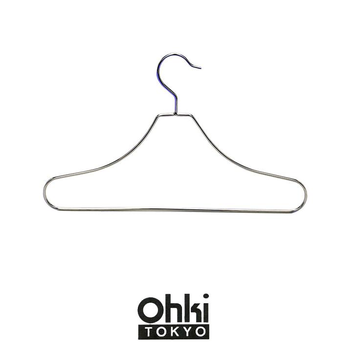 サビに強いハンガー!シンプルデザイン OHKI 大木製作所 ステンレスハンガー 1P ランドリー オールステンレス 贈り物 部屋干し 洗濯ハンガー 洗濯干し