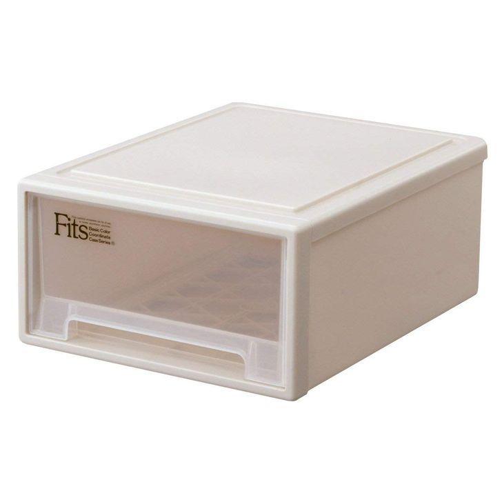 天馬 Fits フィッツケース リトル カプチーノ 9個組 収納ボックス 押入れ収納 ウォークインクローゼット収納 衣装ケース Fits フィッツケース 引き出し 収納 プラスチック 【送料無料】