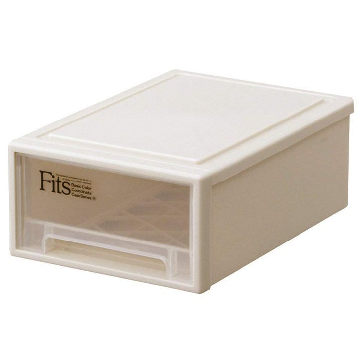 天馬 Fits フィッツケース プチ カプチーノ 20個組 収納ボックス 押入れ収納 ウォークインクローゼット収納 衣装ケース Fits フィッツケース 引き出し 収納 プラスチック 【送料無料】