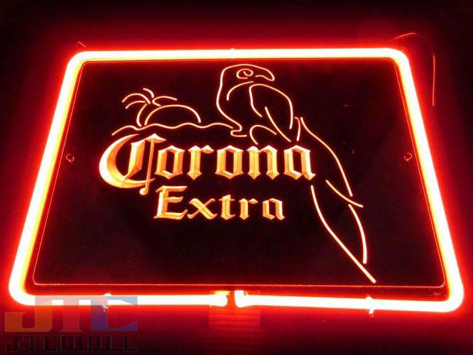 Corona Extra コロナ エキストラ BAR 特大 3D ネオン看板 インテリア コレクション ネオンサイン 広告 店舗用 NEON SIGN アメリカン雑貨 看板 ネオン管