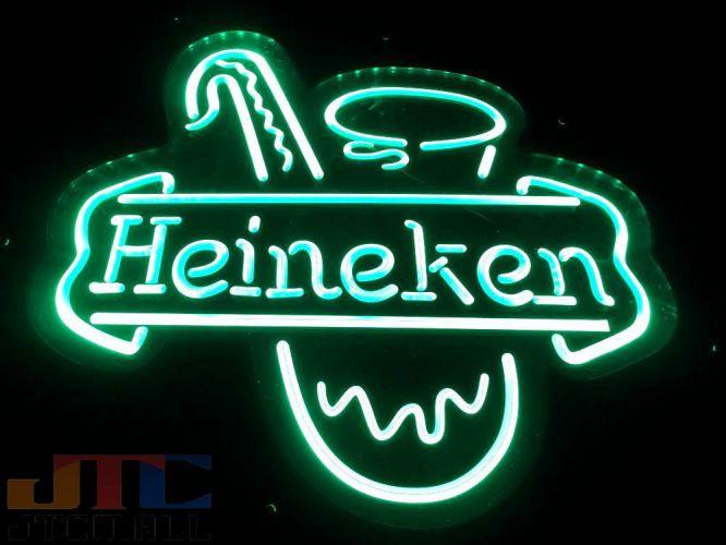 【LED3D看板はメーカーの生産終了に伴い、今ある在庫限りで販売終了となります。】Heineken ハイネケン サックス LED 3D ネオン看板 ネオンサイン 広告 店舗用 アメリカン雑貨 看板 ネオン管