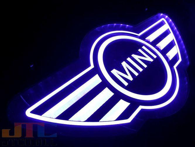 迷你库珀迷你库珀 LED 3D 霓虹灯霓虹灯广告霓虹灯美国小玩意签署霓虹灯管