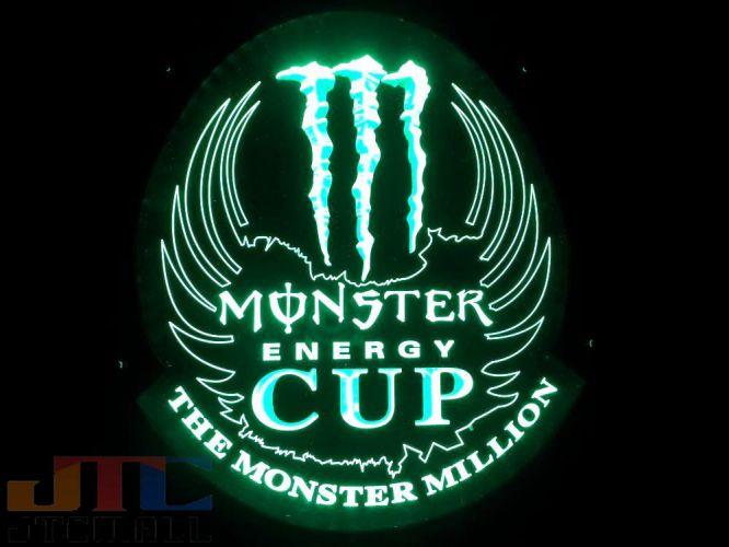 K2acgb Monster Energy Monster Energy Cup Led 3d Neon