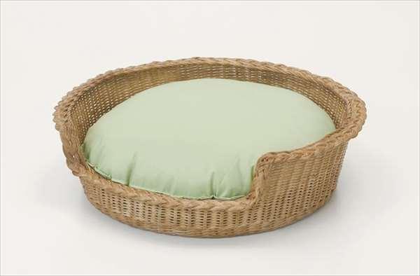 ペットベッド R-282ブラウン 籐 籐家具 ペットベッド 和風リビングルーム籐ラタン製 輸入品 完成品