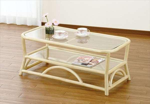 テーブル T-131ナチュラル 籐 籐家具 テーブル センターテーブル リビングテーブル アジアンリビングルーム籐ラタン製 輸入品 完成品