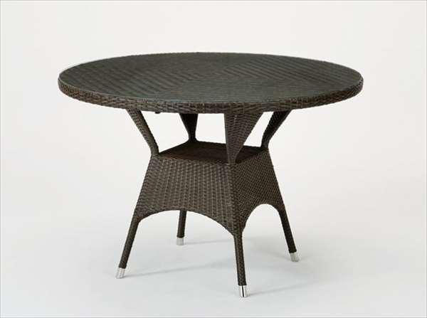 テーブル T-881Bダークブラウン 籐 籐家具 テーブル センターテーブル リビングテーブル アジアンリビングルーム籐ラタン製 輸入品 完成品