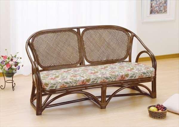 ラブチェア Y-42B ブラウン 籐 籐家具 チェア ラブチェア ソファ アジアンリビングルーム籐ラタン製 輸入品 完成品