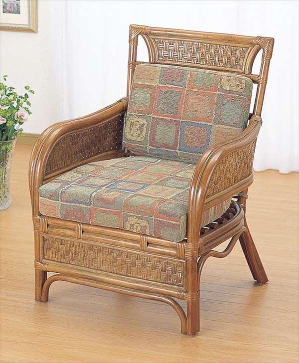特別オファー アームチェア Y-702 ブラウン 籐 籐家具 籐家具 座椅子 椅子 イス イス アジアンリビングルーム籐ラタン製 ブラウン 輸入品 完成品, 名刺印刷年賀状なら-印刷の王様-:63d33cab --- konecti.dominiotemporario.com