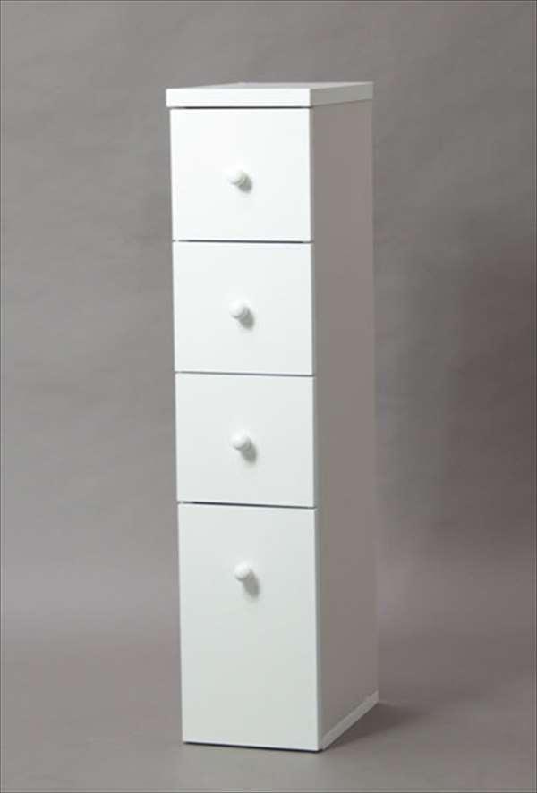 【代引不可】 すきま収納庫ハーフ 20 ホワイト キッチン スリム 隙間 収納 すき間 収納棚 シンプル キッチンルーム 台所 木製 輸入品 組立品 su33