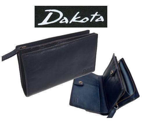 Dakota Black Labelダコタ バロール二つ折り財布ファスナー式小銭入れ