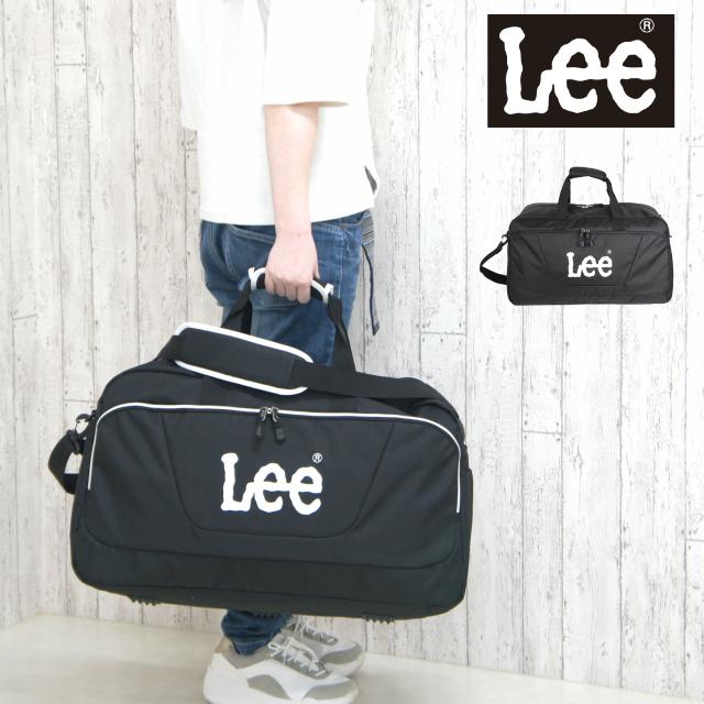 【320-4840】Lee リー boogie ボストンバッグ 2~3泊の旅行におすすめの大容量ボストン カジュアルかつスポーティーなデザインはユニセックスで使えます ブラック ボストンバッグ 修学旅行 男子 Lee リー boogie ボストンバッグ 320-4840 キッズ ジュニア バッグ ブラック 小学生 キッズ 大人 中学生 高校生 男の子 男子 おしゃれ 女の子 子供 女子 2泊 3泊 宿泊学習 部活 大容量 スポーツ 林間学校 メンズ レディース 男女兼用 お泊り