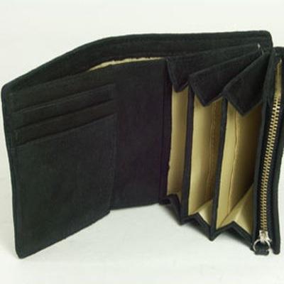【全商品クーポン配布中】財布 二つ折り クロコダイル ワニ革 小銭入れあり 小銭入れ有り メンズ 本革