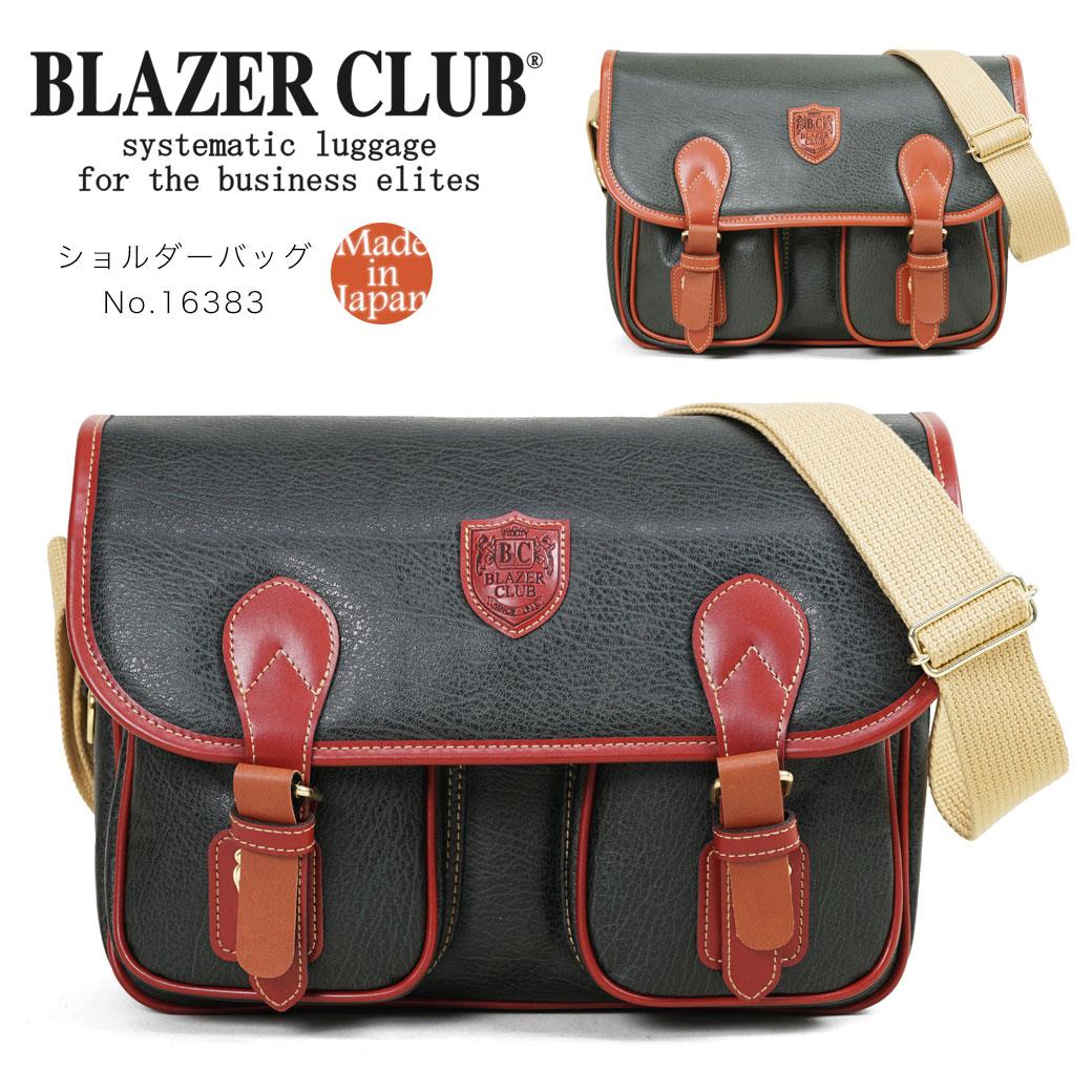 ショルダーバッグ メンズ BLAZERCLUB ブレザークラブ BD2 ビーディー2 合成皮革 横型 肩掛け 斜めがけバッグ 小さめ 軽量 日本製 バッグ メンズバッグ ブランド プレゼント ランキング ギフト 豊岡
