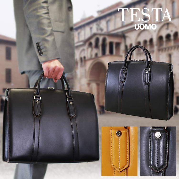 【全商品クーポン配布中】 ブリーフケース メンズ ビジネスバッグ TESTA テスタ 本革 牛革 A4 横型 日本製 バッグ メンズバッグ ブランド プレゼント ランキング ギフト 通勤バッグ