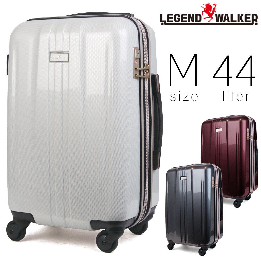 【全商品クーポン配布中】 スーツケース メンズ キャリーケース Legend Walker レジェンドウォーカー HARD CASE ハードケース キャリーバッグ 旅行 出張 ポリカーボネート TSAロック 4輪 車輪ストッパー メンズバッグ