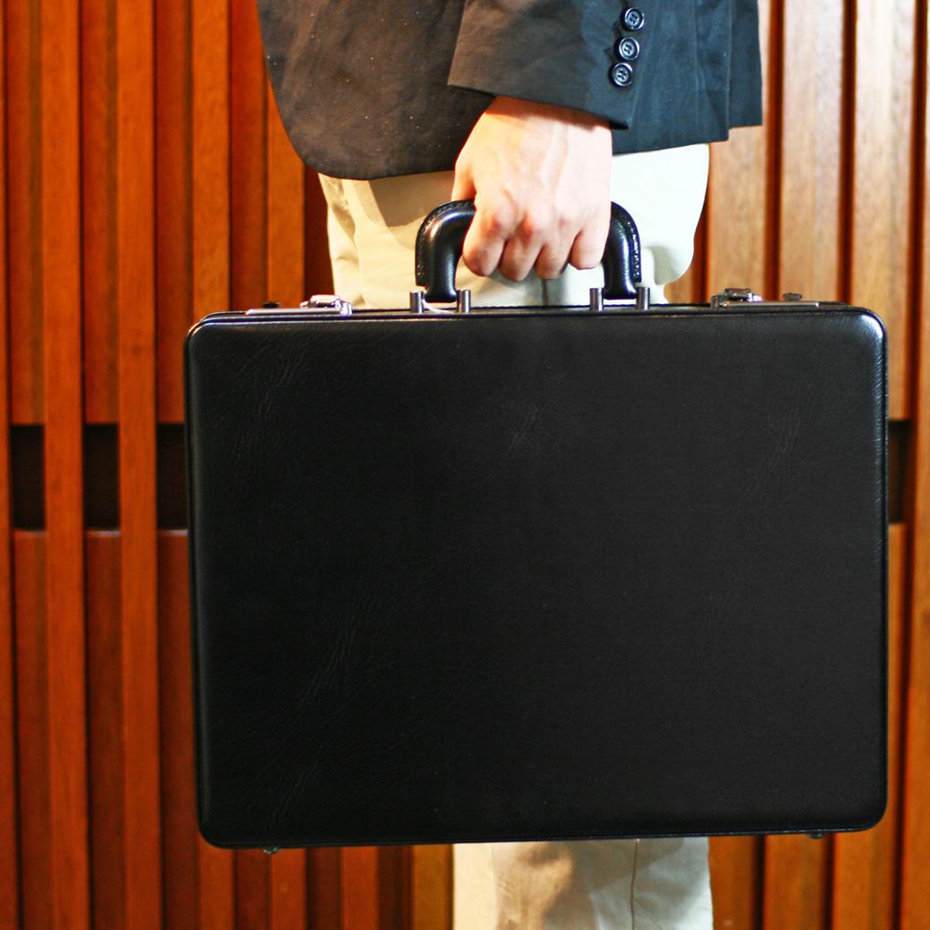 【全商品クーポン配布中】アタッシュケース B4 ビジネスバッグ メンズ アタッシュ 合成皮革 横型 日本製 バッグ メンズバッグ ブランド プレゼント 鞄 かばん カバン bag 送料無料 business bag men's