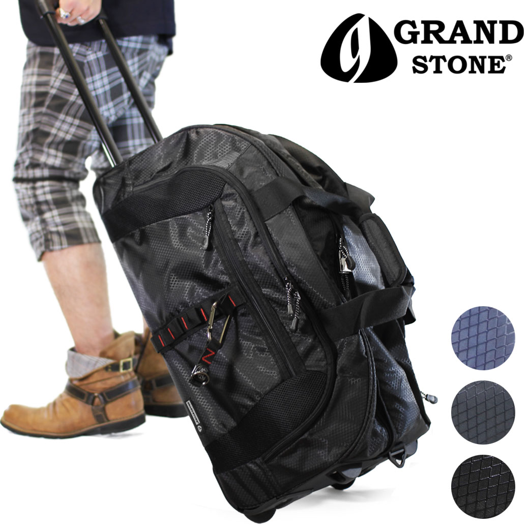 【全商品クーポン配布中】スーツケース メンズ キャリーケース GRAND STONE グランドストーン バランス キャリーバッグ 旅行 出張 ナイロン 3WAY ショルダーバッグ ショルダー付 2輪 メンズバッグ ブランド プレゼント 鞄 かばん カバン bag 海外旅行バッグ