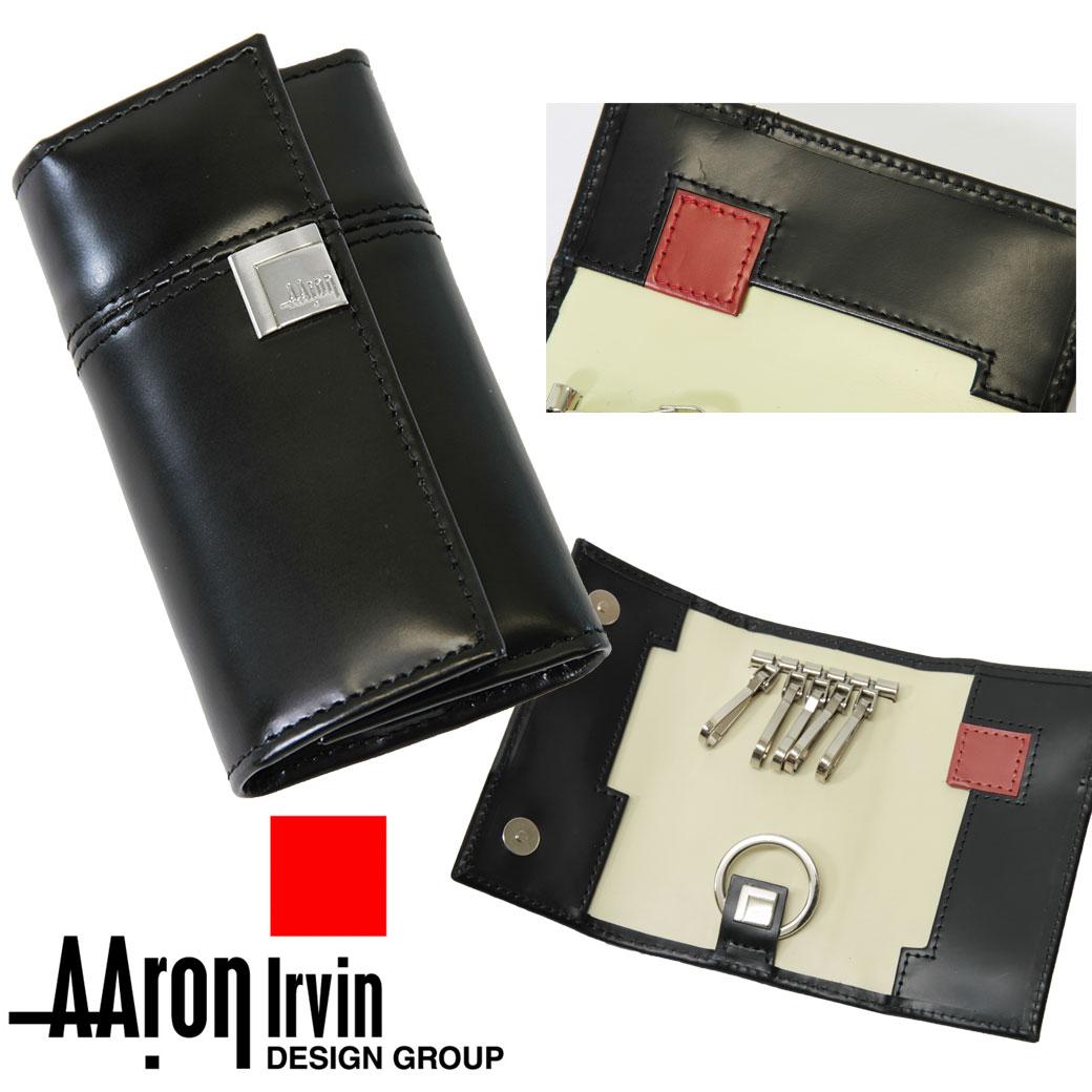 【全商品クーポン配布中】キーケース メンズ Aaron Irvin アーロン・アーヴィン Leather Accessory レザーアクセサリー 本革 牛革 キーケース ブランド プレゼント ランキング ギフト 送料無料 men's key cace