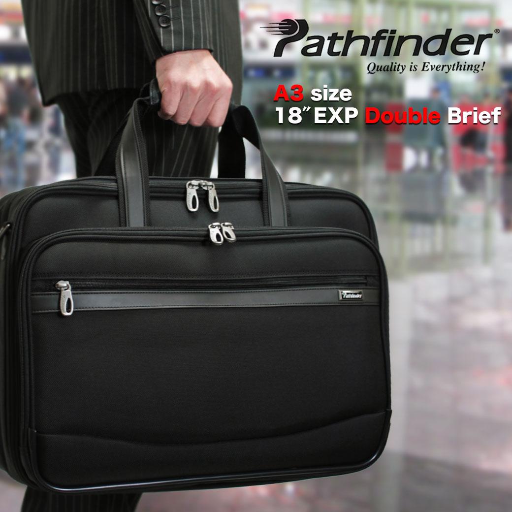 【全商品クーポン配布中】ブリーフケース ビジネスバッグ メンズ Pathfinder パスファインダー Revolution XT レボリューションXT ナイロン 2WAY A3 ショルダーバッグ ショルダー付 メンズバッグ 大容量 通勤バッグ 送料無料 business bag nylon men's